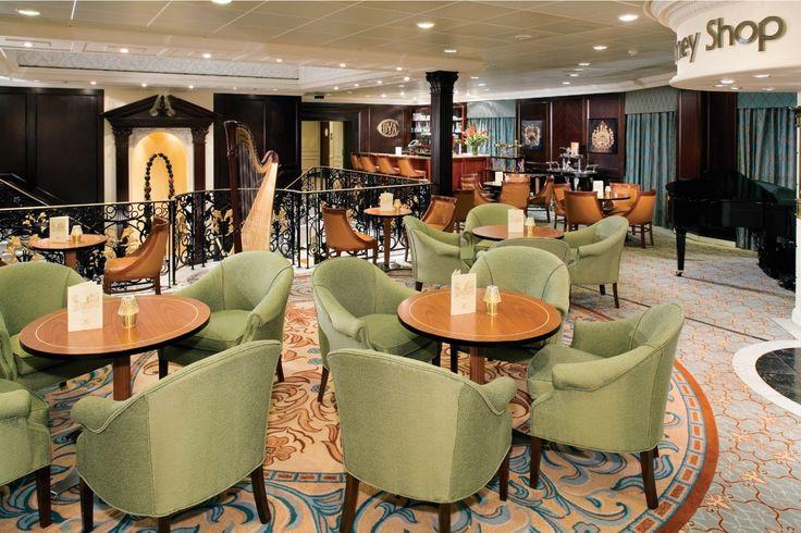 The stunning atrium on Azamara Journey  #Azamara #Cruise #LuxuryTravel