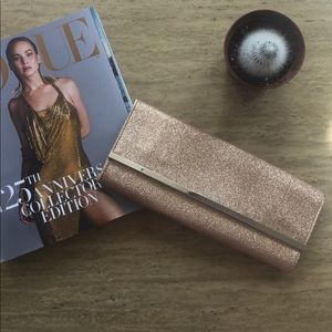 Gold Sparkly Clutch