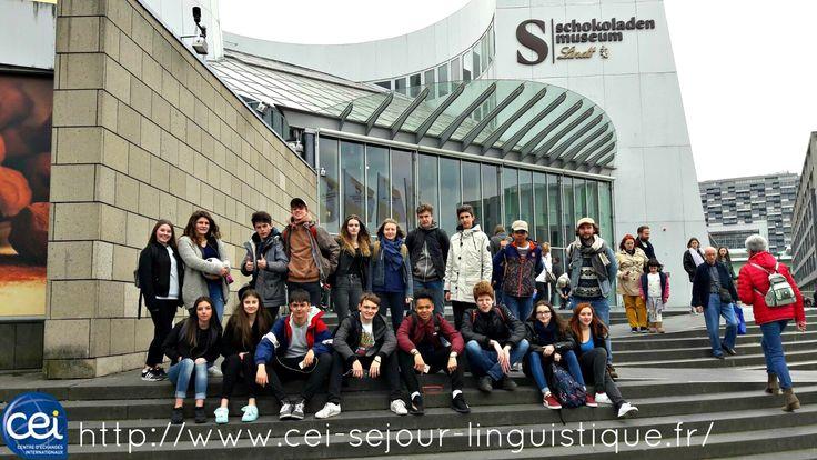 Nos jeunes en Colonie de vacances en visite de Berlin et spécialement, le Musée du Chocolat !! #CEI #Colonie #Vacances #Berlin #Chocolat