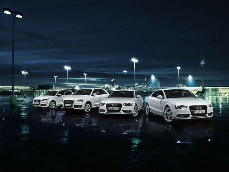 Automotive photographer Lou D'Angelo shoots for Audi.
