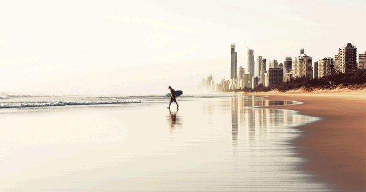 ДЕНЬ 9-10: ГОЛД-КОСТ Несколько дней на самой легендарной пляжной линии на планете с потрясающим морем. Неон города отражается в воде 24/7 делая его похожим на Лас Вегас на пляже. Эти дни мы также посвятим серфингу и пляжному отдыху, заедем в Surfers paradise и попробуем все развлечения вокруг (sea world, dream world, movie world как одни из немногих :)