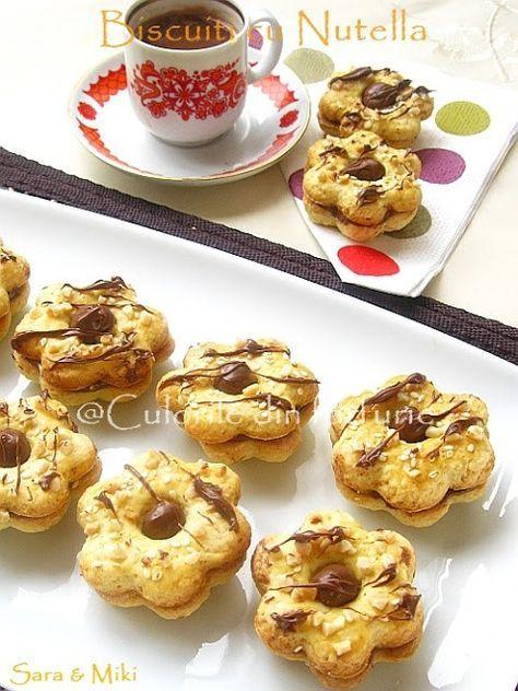 Biscuiti cu Nutella