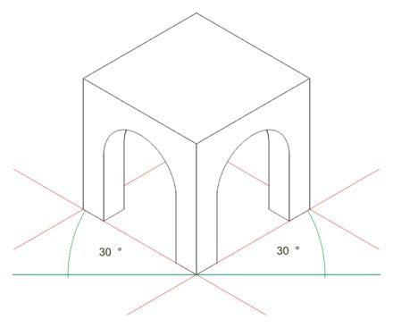Perspective isométrique — Wikipédia