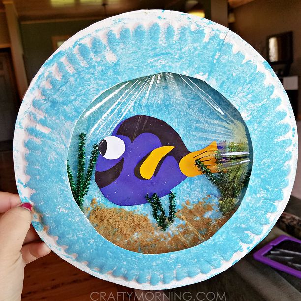 138 best fish images on pinterest for Finding dory crafts for preschoolers