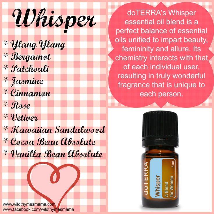 doTERRA's Whisper Essential Oil Blend