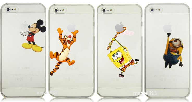 Cartoon Mickey Mouse Minion Tigger Snow White Ariel Case Phone iPhone 4 5 5C #UnbrandedGeneric