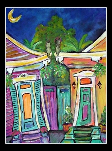 28 best funky art images on pinterest art rooms for Funky house artists