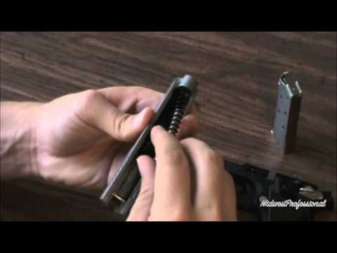 Sig P238 Field Strip. Disassembly and assembly!