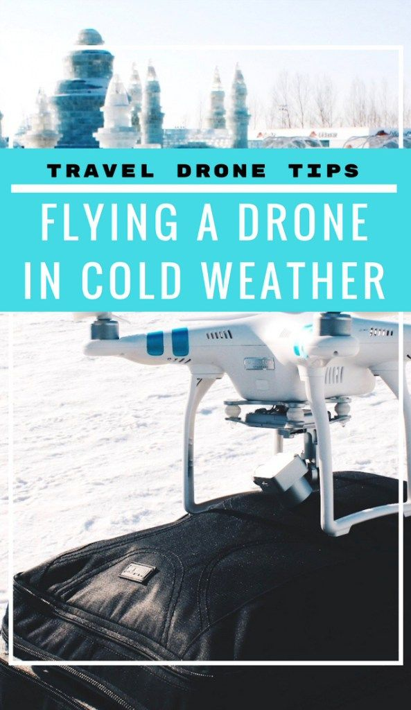 Travel Drone Tips: Flying a Drone in Cold Weather || Essential travel drone tips for flying a drone in cold weather for amazing winter shots! Includes a list of everything you MUST pack for cold temperatures.