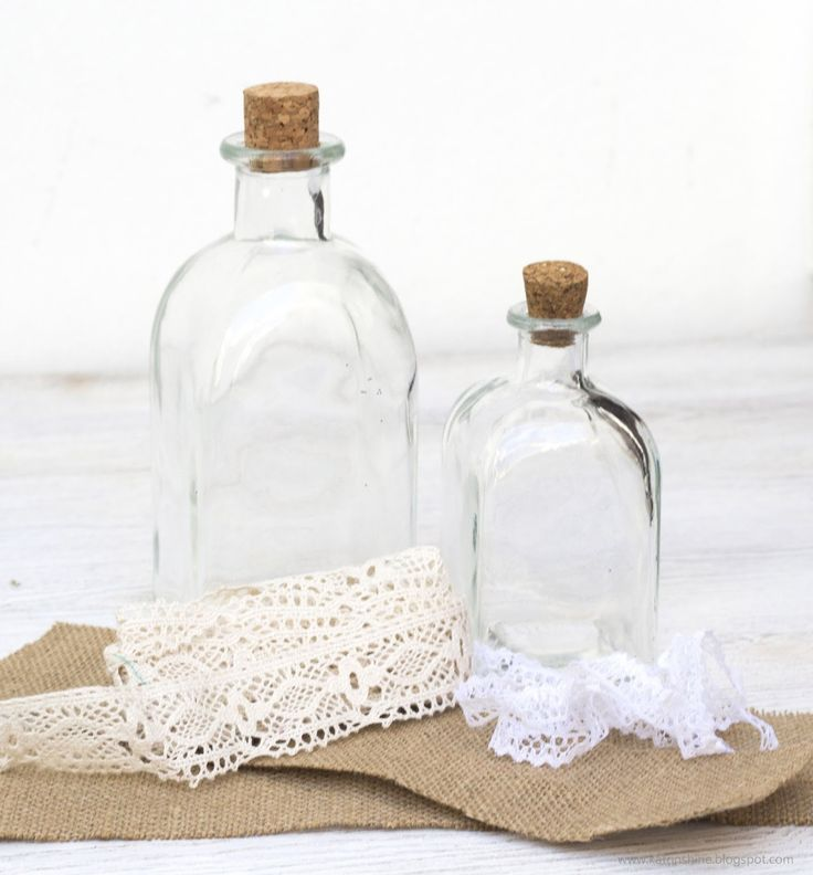Katrinshine: Decorate bottle in shabby chic DIY