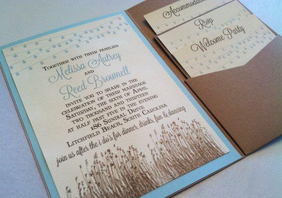 Backyard Wedding Invitation: 17 Best Ideas About Backyard Wedding Invitations On
