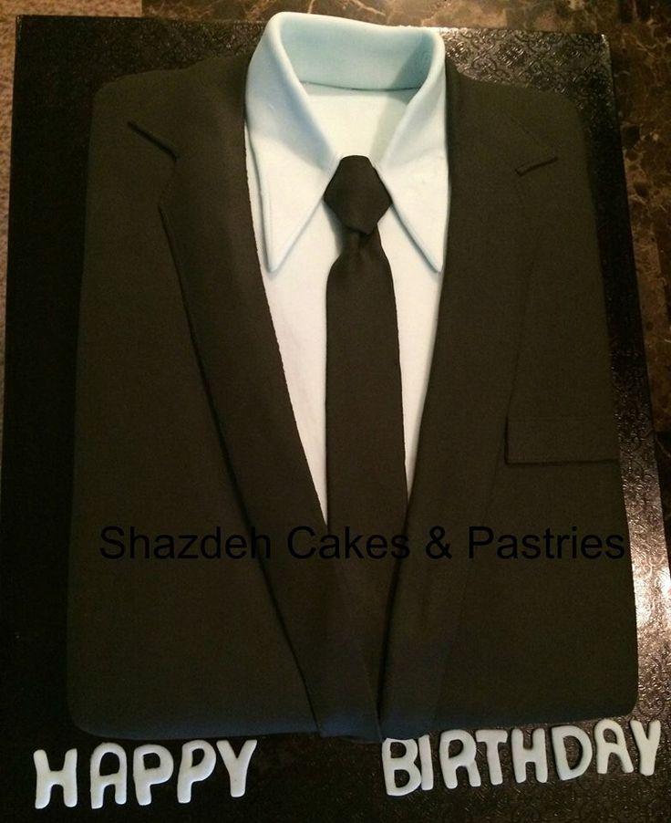 Costume Et Cravate Gâteau! Gâteau hommes fondant! Gâteaux Grooms!   – Cakes
