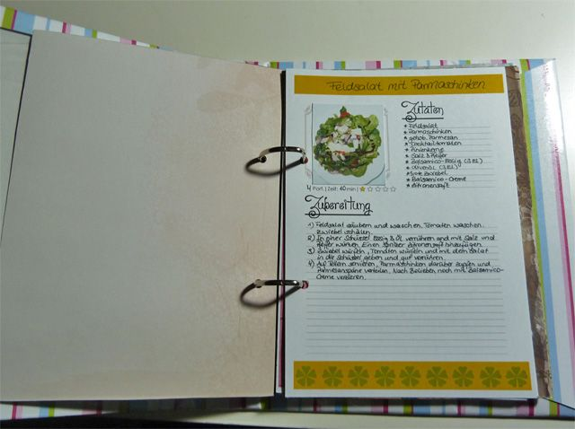 Küchenwunder Rezeptordner ~ 16 besten rezeptordner bilder auf pinterest rezepte, kochbuch und papier fabrik