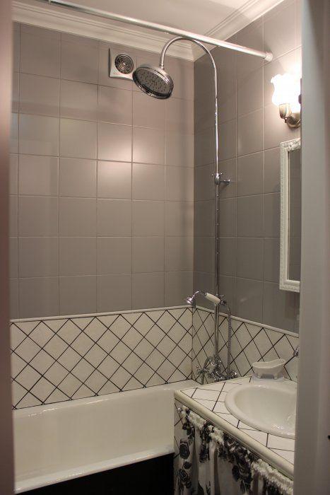 """Ванная комната """"Серые розы"""""""
