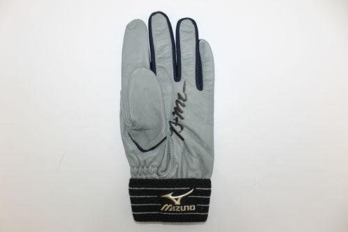 Brian McCann Autographed Yankees Game Used Baseball Batting Glove COA - PSA/DNA Certified - MLB Game Used Gloves ** Click image to review more details.