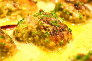 Gordon ramsey Meatballs in a Fragrant Coconut Milk Sauce