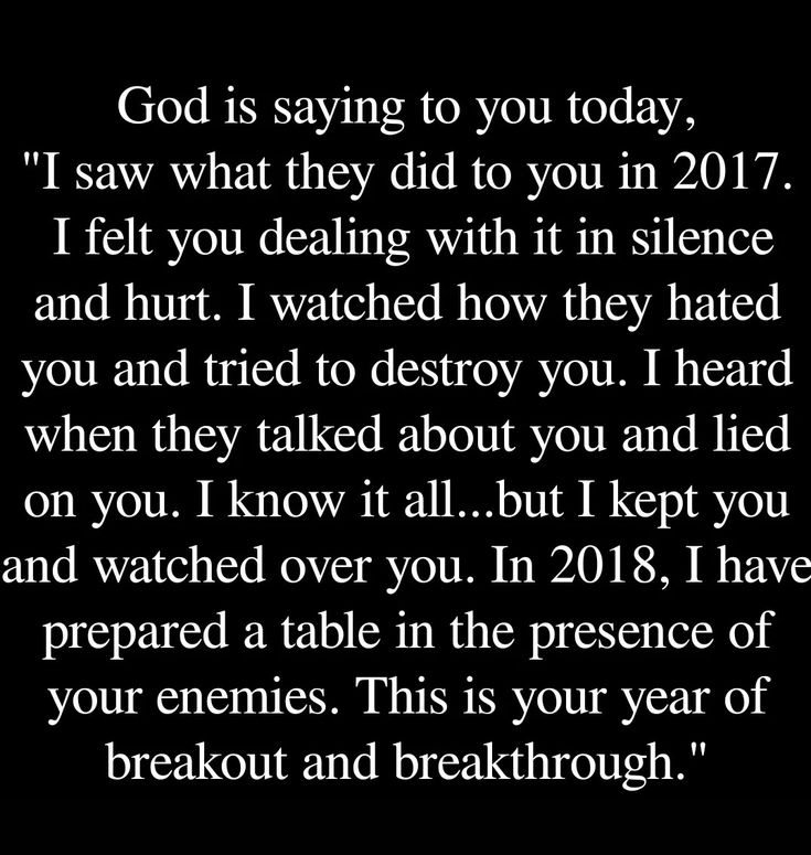 Truly how my 2017 went and trusted in you Lord the whole time. You kept me as You said you would.