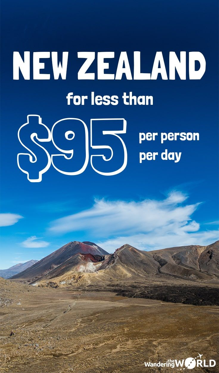 Travel Expenses in New Zealand - New Zealand Budget - Wandering the World