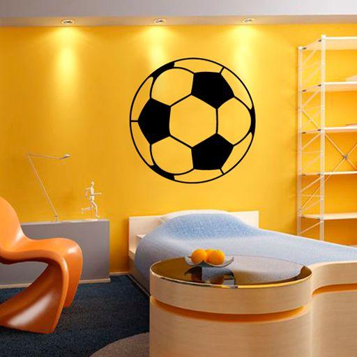 Vinilo decorativo deportivo con forma de bal n un vinilo for Vinilo decorativo para habitacion