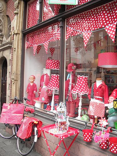 Polka Dot shop in Amsterdam (Fairytale Shop) Flickr - Photo Sharing!