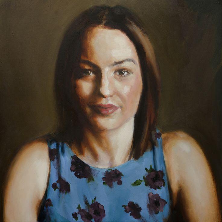 https://flic.kr/p/V6trtm | portrait of a woman by philip knipscheer | oil on canvas alla prima 2017 #philipknipscheer