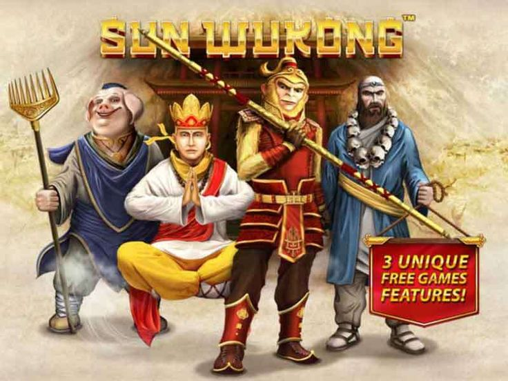 The Sun Wukong slot is another creation coming from the Playtech developer played for real money & for fun with no download or registration. The story is based on a China's famous character, the Monkey King. It possesses 5 reels and 15 pay lines. Behind the play table, there is a sunny mountain background. http://free-slots-no-download.com/playtech/5412-sun-wukong/