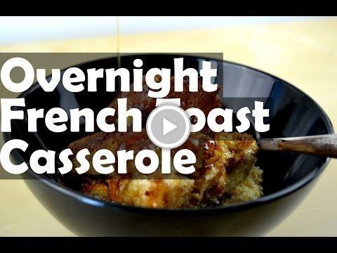 Simple Overnight #French_Toast_Casserole