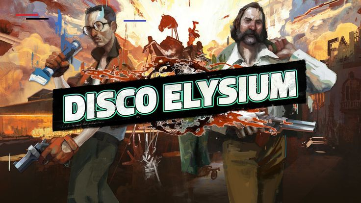 Disco Elysium Cover Art Game Logo 4k Wallpaper Hdwallpaper Desktop Br Elysium Game Art Indie Games