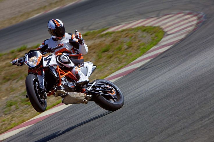 KTM - Thumbs Up, wheelies are cool!