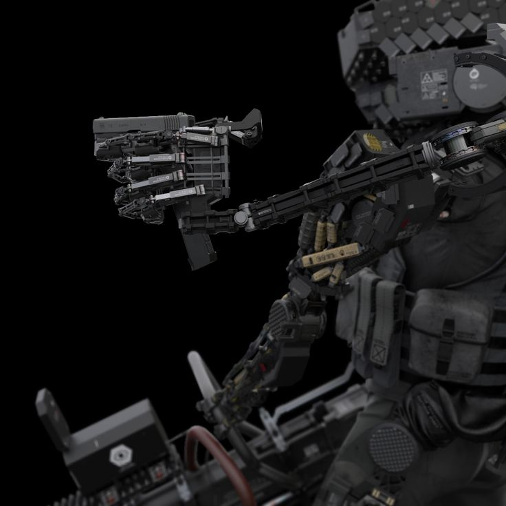 Rocketumblr   morphial: CPER Soldier by Kun Dong