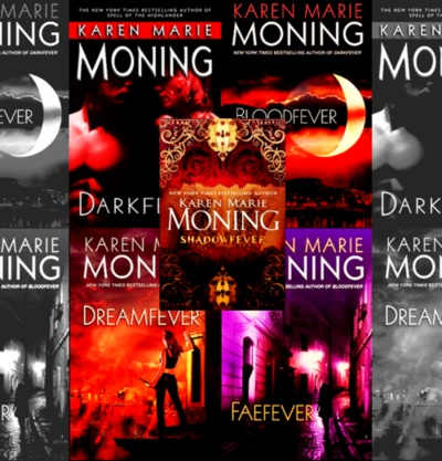 Fever Series - Karen Marie Moning might have to look into these JAMIE!