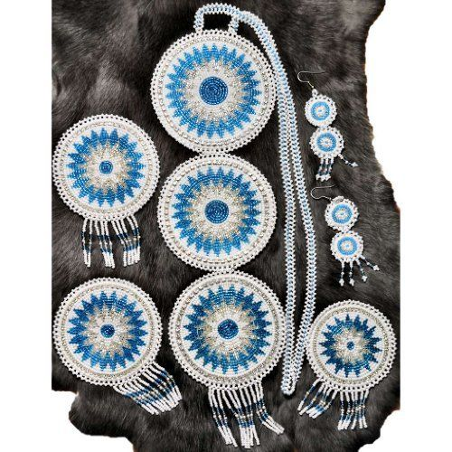Choctaw Beads: 623 Best Beaded Rosettes/Medallions Images On Pinterest