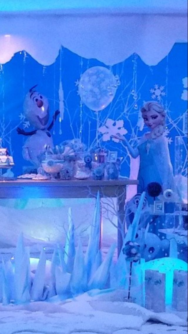 ❄️⛄️ Lucia's Birthday Frozen