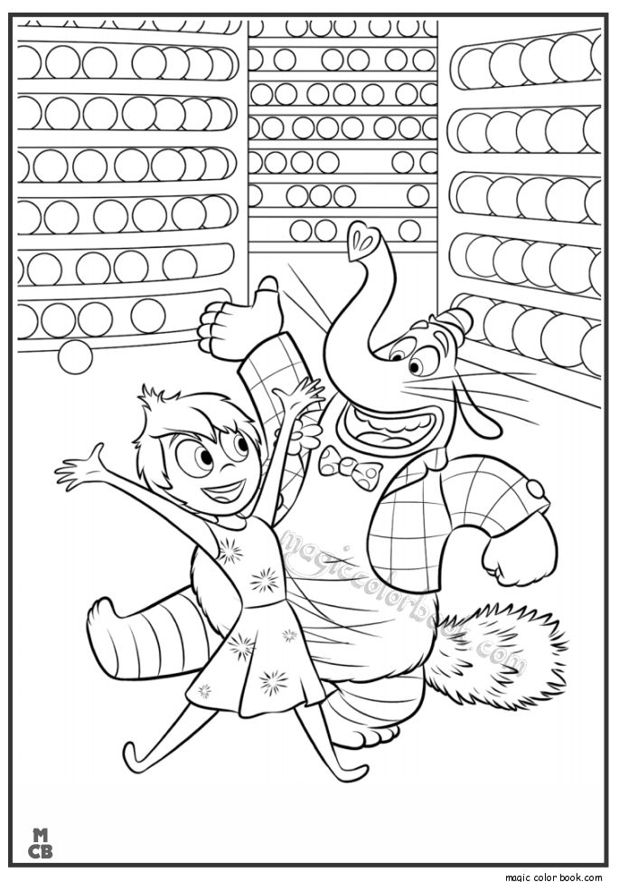 27 best Inside Out Coloring pages free images on Pinterest ...