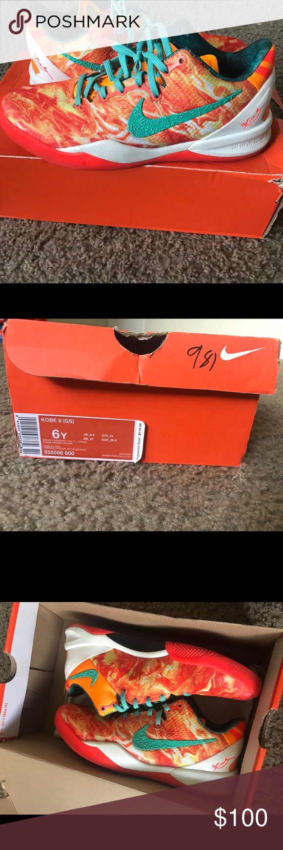 """Nike Kobe All Star 8 """"Area 72"""" Nike Kobe All Star 8 """"Area 72"""". Size 6y, Women's 8. Runs big. Great condition. Nike Shoes Sneakers"""