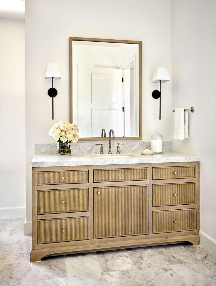reeded bathroom vanity cabinet in 2020  luxury interior