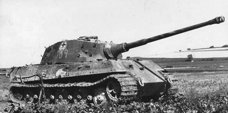 Picture of the SdKfz 182 Panzerkampfwagen VIB Tiger II / King Tiger (PzKpfw VIB) / Panzer 6B