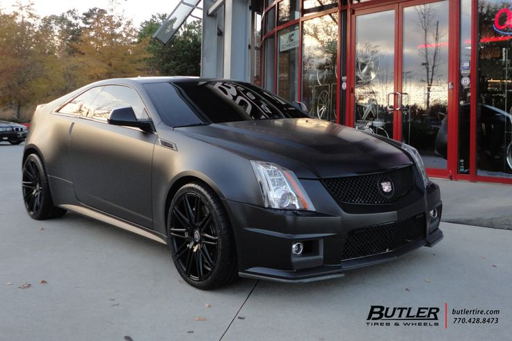 Cadillac CTS-V Coupe with 20in XO Milan Wheels exclusively from ...
