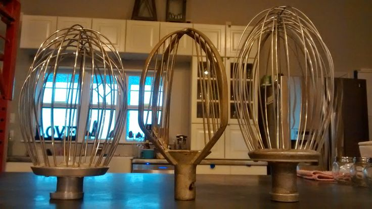Making Industrial Mixer Whisk Pendant Lights  TUTORIAL ~ Once Upon an Acre: