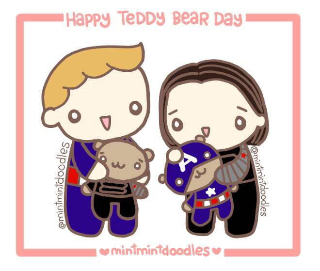 Happy Teddy Bear Day! Do you have a favorite teddy bear?  Mine is my…