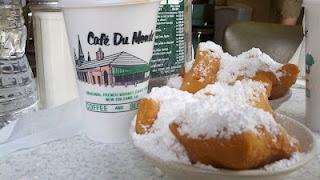 Cafe Du Monde - delish - New Orleans