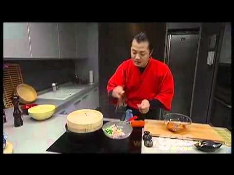 Bibimbap arroz al estilo coreano con hung fai Chiu.avi - YouTube