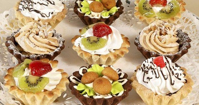 Пирожное «Корзиночка» - лучшие рецепты начинок для любимого десерта