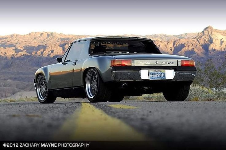 """Porsche 914 with WRX engine for Excellence Magazine. #porsche #porsche914 #porsche914 #renegadehybrids #wrx #engineswap #subaru #kinesiswheels…"""