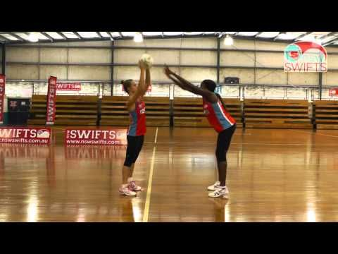 Norma Plummer's Netball Drills -- Defence - YouTube