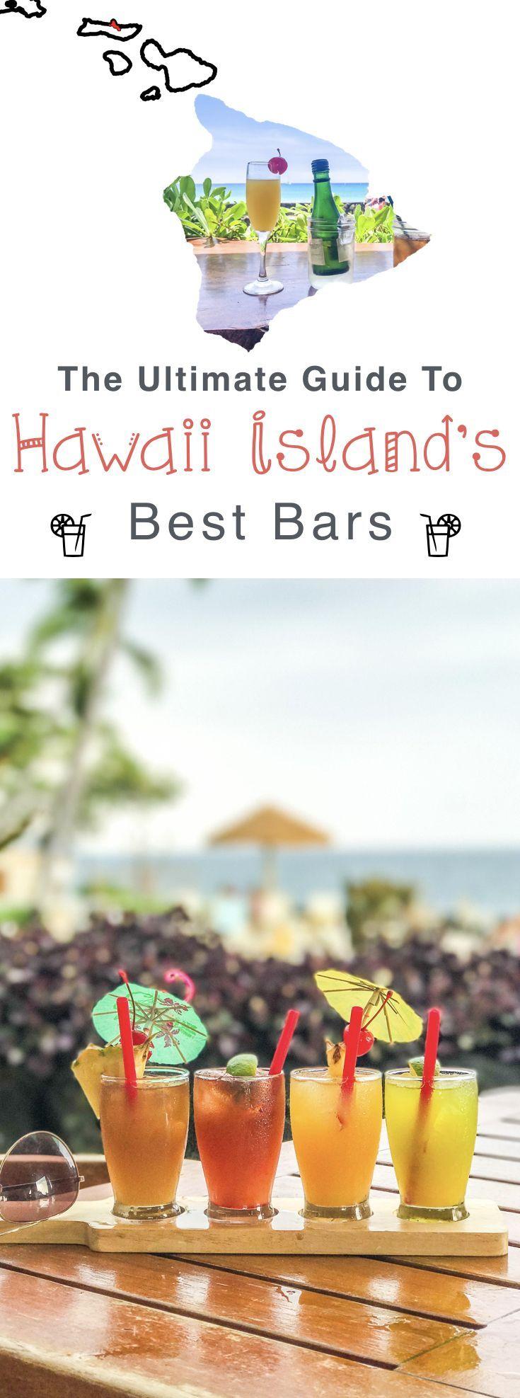 Hawaii Big Island Guide: The best bars & restaurants in Kona, Hawaii.