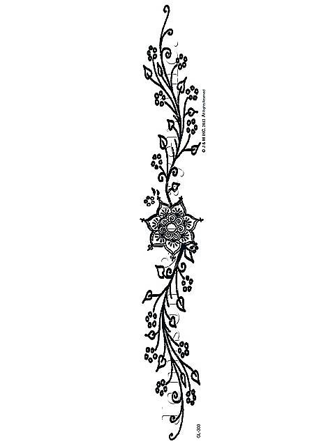 floral armband tattoo armband tattoos pinterest. Black Bedroom Furniture Sets. Home Design Ideas