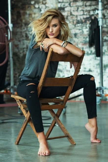 Rosie Huntington-Whiteley for Paige Denim | Marie Claire