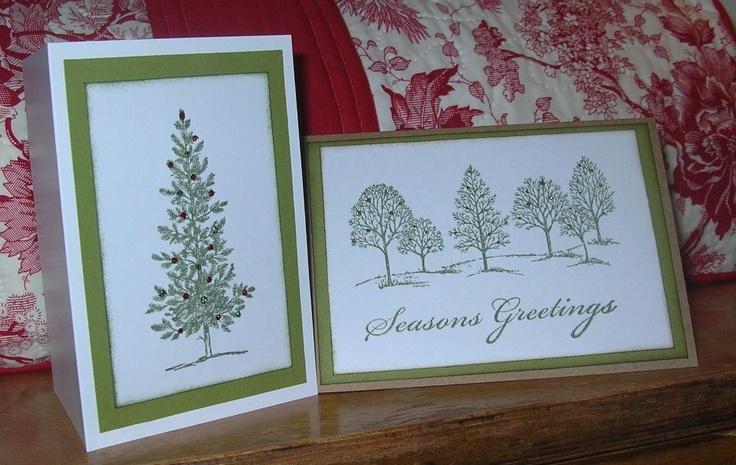 Handmade Stampin up cards