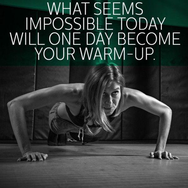 If I could just look to the future instead of the present! Als je voor iets traint, dan zal het ooit makkelijker voor je worden. en kun je weer doorleren.